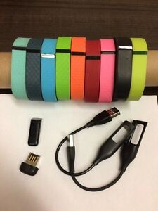 Fitbit Flex with 9 small size bands
