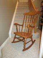 Priced To Sell, Classic Maple Rocker
