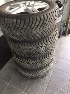 265-50-19 Nokian  like new winters tires