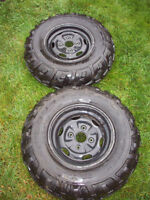 4 ATV Tires and Rims