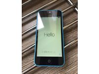 iPhone 5c 16gb in blue (unlocked) good condition