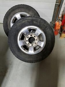 Factory Dodge 8 Bolt rims and tires ! Good condition