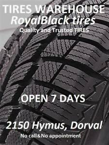 NEW winter TIRES 195/65/15-299$txin4tires * 2150 Hymus, Dorval *