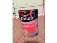 Dulux 1.25l coral flair feature wall paint