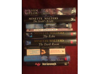 10 first edition signed fiction books in fine condition. Titles and authors as pictured