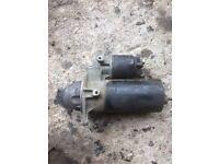 Vauxhall starter motor