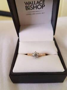 0.5 carat & 18k yellow gold ring Wooloowin Brisbane North East Preview
