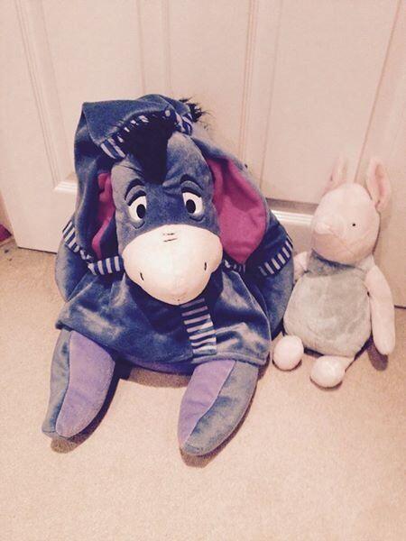 Large Bedtime Eeyore & Piglet