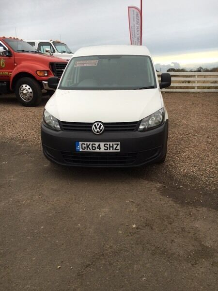 VW Caddy 64 plate Mint condition 52000 miles exc VAT