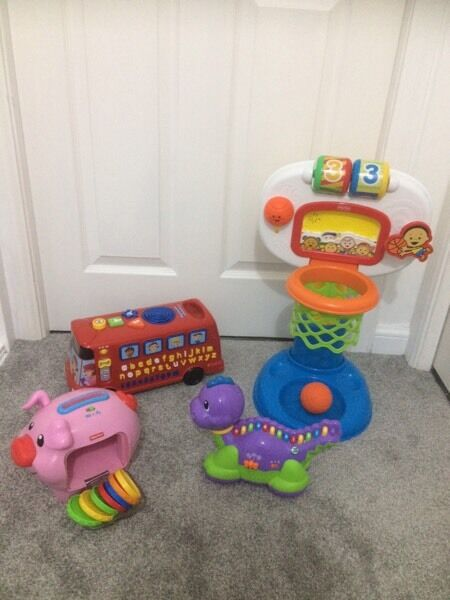 Kids baby toys bundle / Fisher Price/ Leap Frog/
