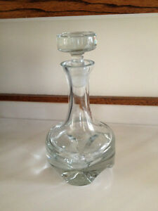 Swedish Crystal Decanter 12 inches