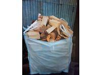 Logs, blocks, firewood, peats, turf