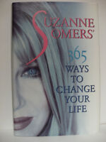 Suzanne Somers' 365 Ways to Change Your Life (Hardcover) - NEW