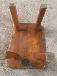 Solid Maple Stool by Cushman, Vermont London Ontario image 3