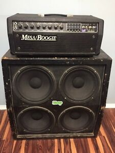 Mesa Boogie Mark lll 100w/50w Head and 4x12 cab