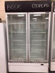 2 Glass Door 1000L Commercial Display Fridge GM1000LW Eastwood Ryde Area Preview