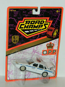 Road Champs 1/43 Ford Crown Victoria OPP Police Diecast Car