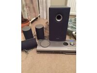 Sharp home cinema system with DVD player