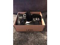 Toddler black ugg boots size 5
