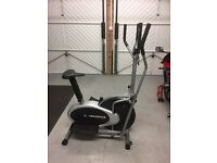 Confidence Fitness Pro 2-in-1 Cross Trainer and Bike
