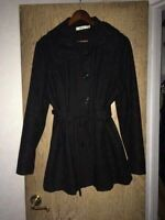 XL Black Ricki's Coat