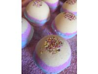 Bath bombs, soaps and wax melts