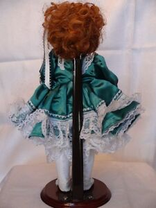 Meggan's Collectors Canadian Procelain Handmade Doll Anna Belle London Ontario image 5