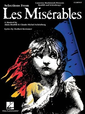 Les Miserables Instrumental Solos for Clarinet Instrumental Solo Book  000849017