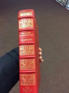 William Shakespeare's tragedies leather bound