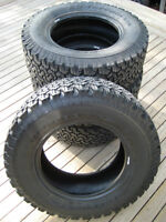 BFGoodrich All-Terrain Tires (Like New!)