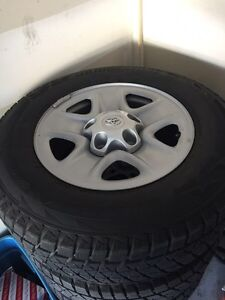 Toyota Tundra Winter Wheels and Tires