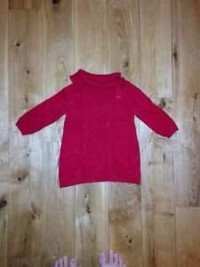 6-12 month Christmas sweater dress