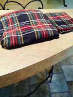 Twin Size Fitted Sheet and Matching Pillow Case