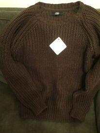 Woollen knitted jumper