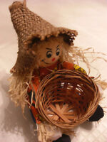 Mini Scarecrow for Autumn Decor