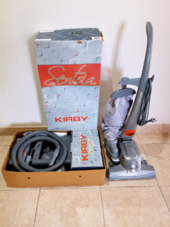 Kirby Sentria Upright Vacuum Cleaner most parts Brand new
