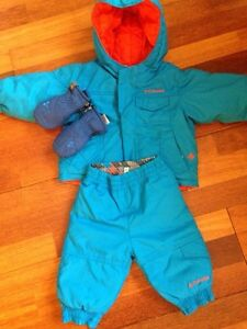 Reversible Columbia 12 mo. Snowsuit