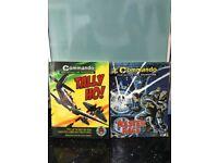 3 x commando comics