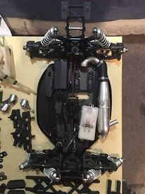 Hyper 7 rc buggy/car roller/lots of spares