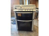 Bush dual fuel cooker