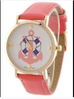 Coral nautical watch