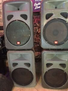 JBL EON POWER15.    Powered speakers main or monitors