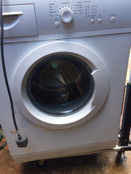 Washing machine ex . Cond. Spotless clean inside and out .