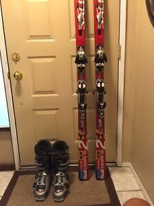 Ski's and boots for sale