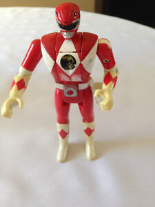 VINTAGE 1993 5.5 inch Red POWER RANGER JASON LEE Action Figure