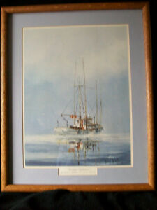 "Beautifully framed Robert McVittie ""Morning Reflections"""