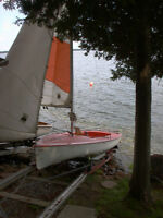 12 ' Sailboat similar to Laser II