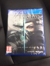 dishonored 2 new & sealed