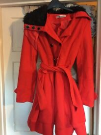 Red coat XXL