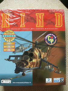 PC Game: HIND - The Russian Combat Helicopter Simulation (NEW)